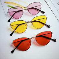 Retro Cat Eye Sunglasses for Her - Dazam
