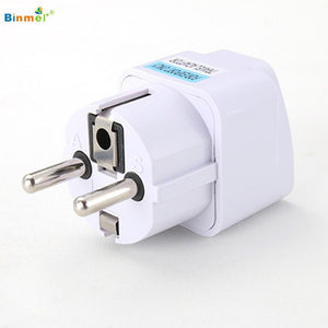 Universal UK/US/AU to EU AC Power Socket Plug - Dazam