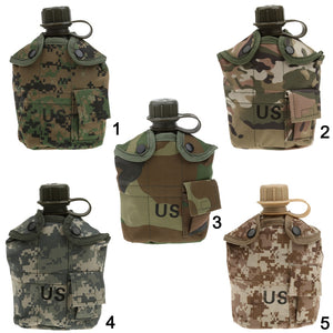 5 Colors 1L Military Camping Canteen - Dazam