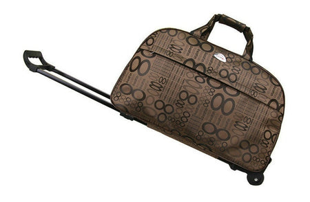 dazam - Quality Waterproof Duffel Bag with Extending Trolley