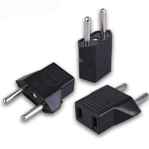 US To EU Plug - Travel Wall AC Power Adapter - Dazam