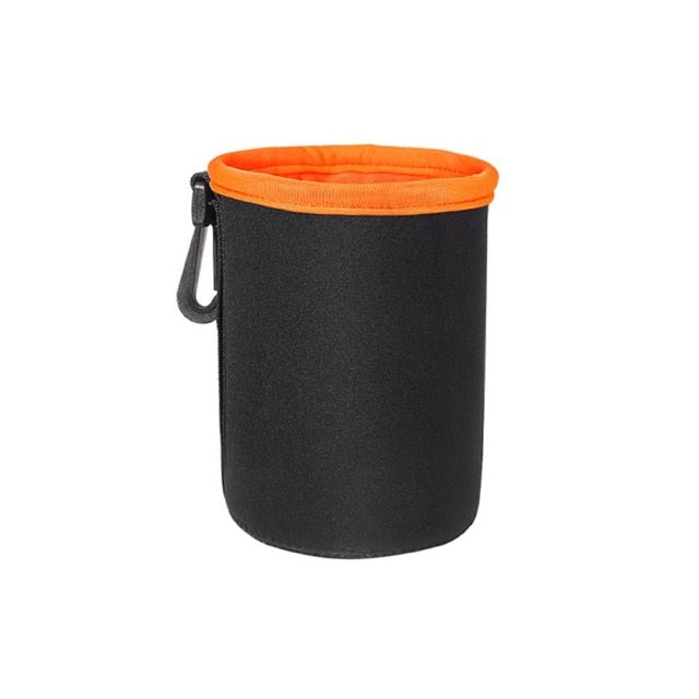 Soft Neoprene Video Camera Lens Pouch - Dazam