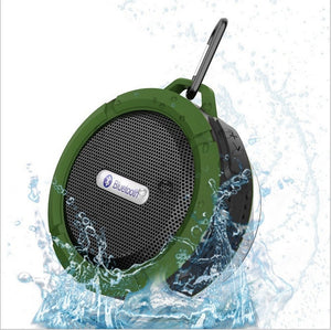 Outdoor Wireless Bluetooth 4.0 Portable Speaker w/ Built-in mic - Dazam