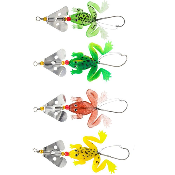 dazam - 4pcs/LOT Rubber Soft Fishing Lures