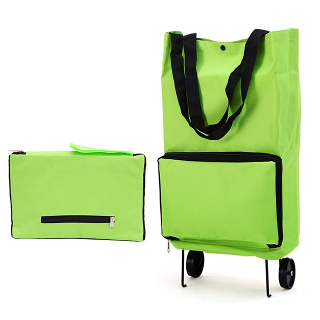Foldable Lightweight Shopping Trolley - Dazam