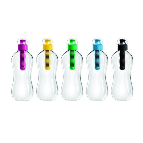 dazam - Reusable Water Bottle with Carbon Filter