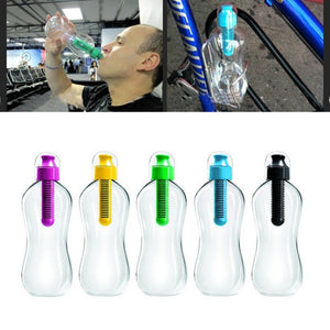 Reusable Water Bottle with Carbon Filter - Dazam