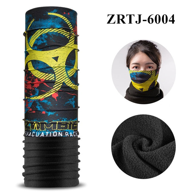 ROCKBROS Cycling Thermal Scarf/Headband/Mask/Bandana - Dazam