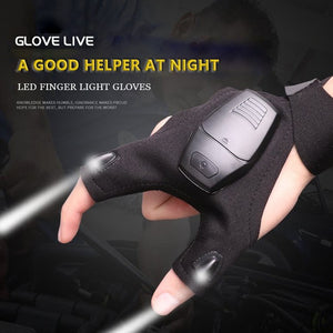 Multi-Purpose Night Lamp Gloves - Dazam