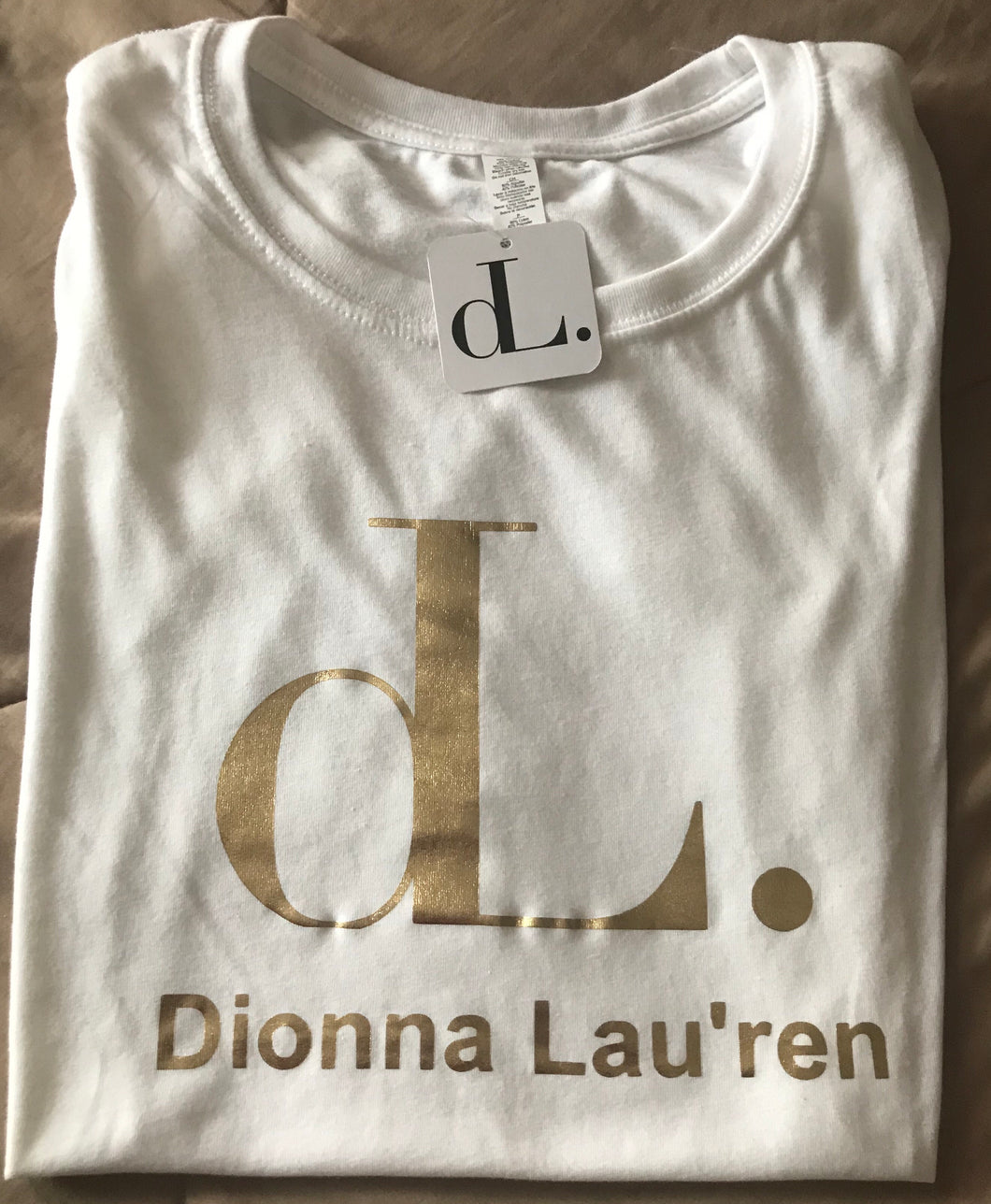 DL Fashions Limited Edition Tshirt Gold
