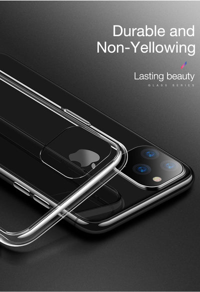 Slim Clear Soft TPU Cover Support Wireless Charging for iPhone 11 Pro