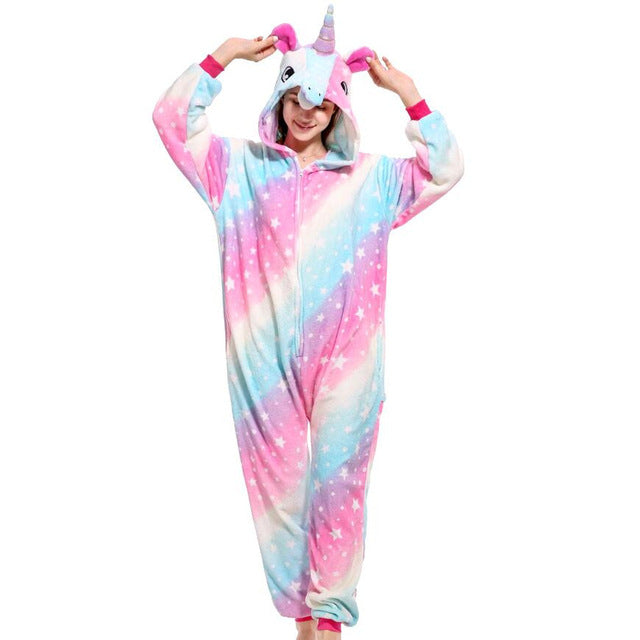 Animals Kigurumi Unicorn Costume For Girls