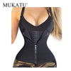 Adjustable Shoulder Strap Waist Trainer Vest Corset Women Zipper Hook Body Shaper