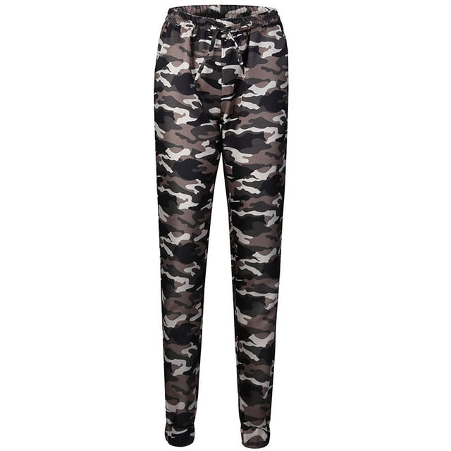 27073a2133db3 Fashion Women s Camo Cargo Trousers Military Army Combat Camouflage Casual  Pants