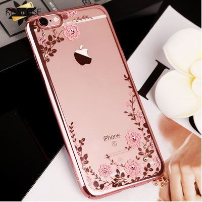 KISSCASE Floral Patterned Case For iPhone