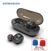 Bluetooth Earphone, Headset Deep Bass Stereo Sound, Sport Earphone For Samsung Iphone