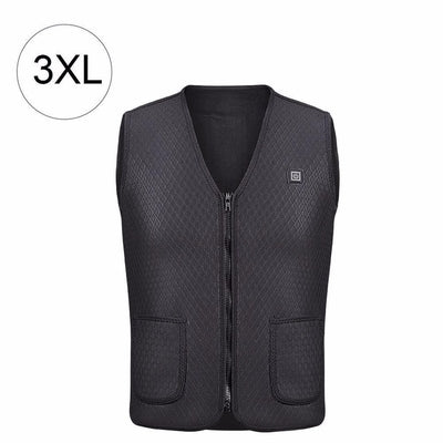 Heater Hunting Vest Heated Jacket Heating Winter Clothes Men Thermal Outdoor Sleeveless Vest Hiking Climbing Fishing