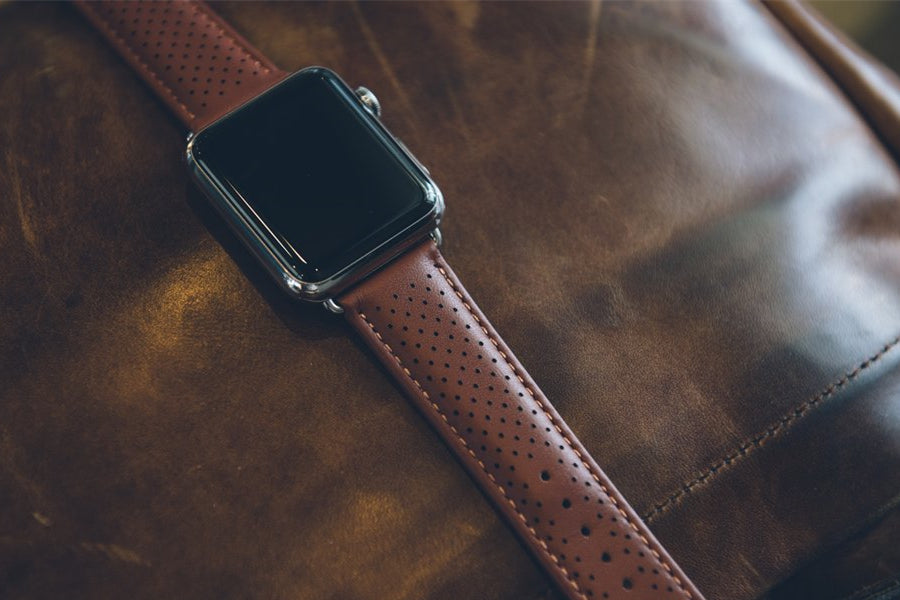 Product Spotlight: Perforated Leather Watch Band