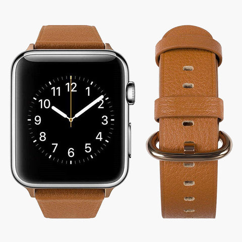 Round Buckle Leather Band