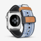 blue jean denim apple watch bands