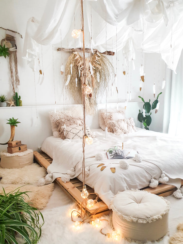 How to transform your bedroom into a jungalow with @zebodeko