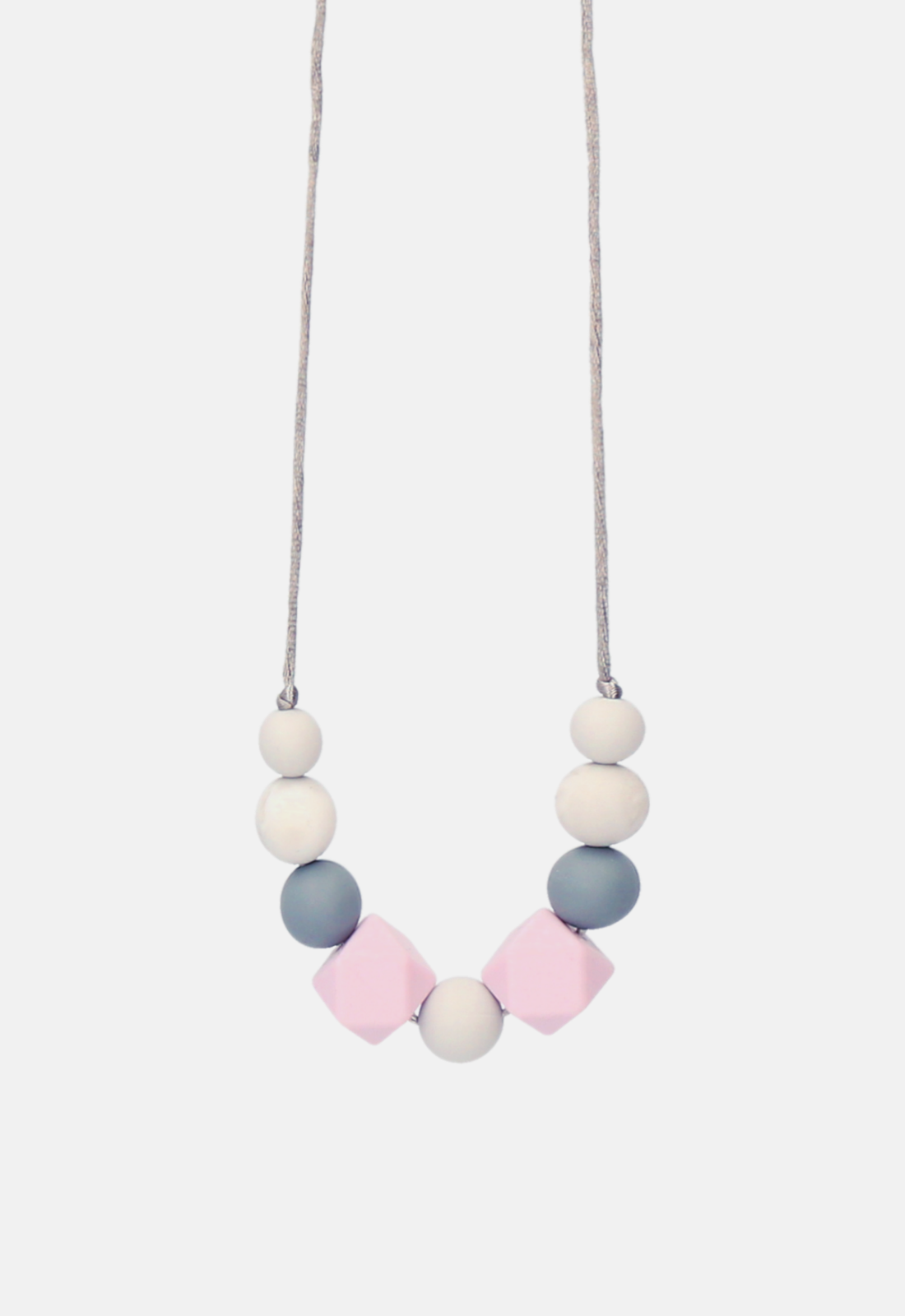 Lola&Lykke®_Teething Necklace_Grey Marble