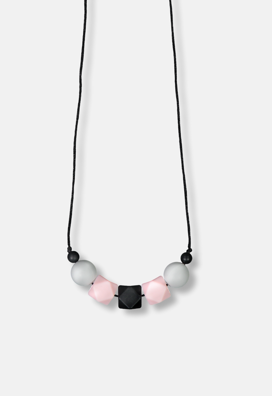 Lola&Lykke®_Teething Necklace_Hint of Pink