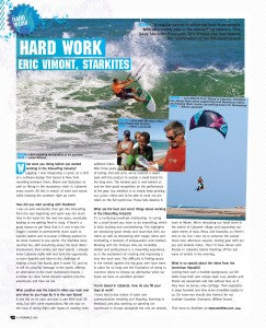 HARD WORK , ERIC VIMONT STARKITES in Kiteworld #60