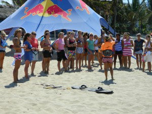 Girls Kite Camp Cabarete