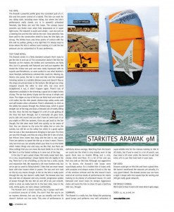 KITEWORLD ARAWAK 2012 review