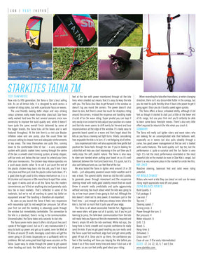 TAINA 7 v5 2016 tested in KITEWORLD