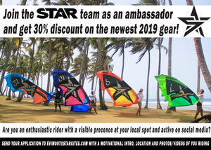 STAR looking for Ambassadors worldwide with crazy incentive on 2019 gear