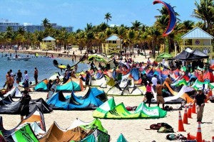 Starkites Video at the 2012 Miami Kite Masters