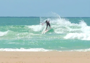 Surf video featuring the TAINA and ambassador Fernando Schultz in Florianopolis waves