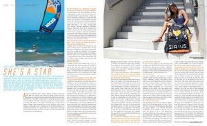 Seen in KITEWORLD mag #81 : She's is a STAR !