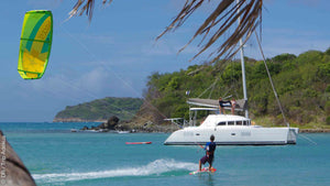 CATAMARAN STAR trip in the GRENADINES with Fabien (IN THE OPEN)