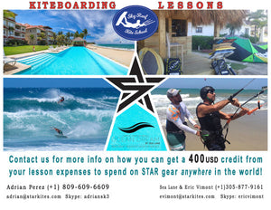 STAR kite school SKYREEF welcome you in Cabarete