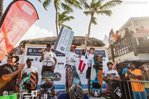 Luis Alberto Cruz position STAR on first podium @ WORLD KITEBOARDING LEAGUE – CABARETE