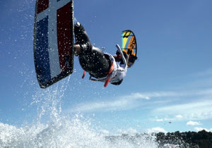 KiteBoarder: Luis Alberto Cruz (in French)