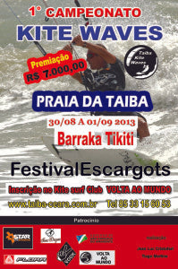 STARKITES sponsors national wave competition event in TAIBA BRAZIL