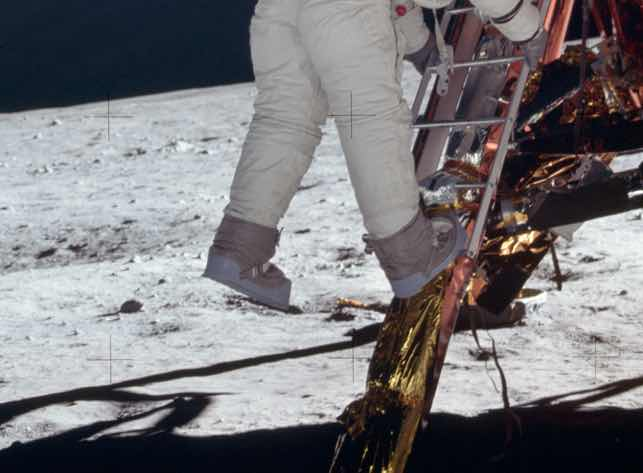 "2. That ""one small step"" was actually much bigger than planned"