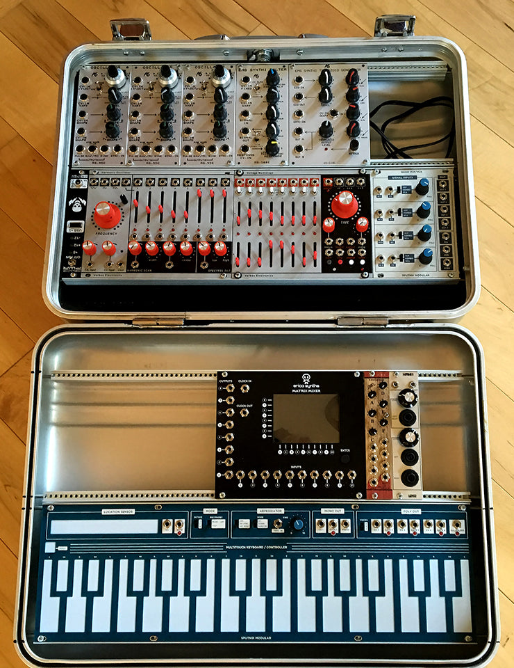 A Little Traveling Music: Ryan O'Gara's Modular Synthesizer