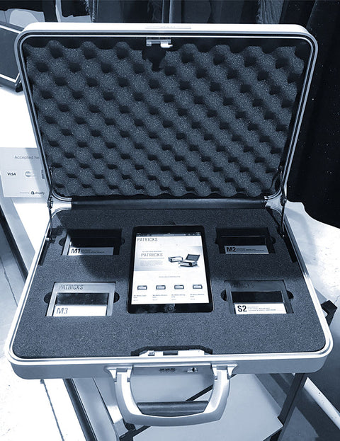The Ultimate Portable Product Display: Patrick Kidd's Skin Care Product Case