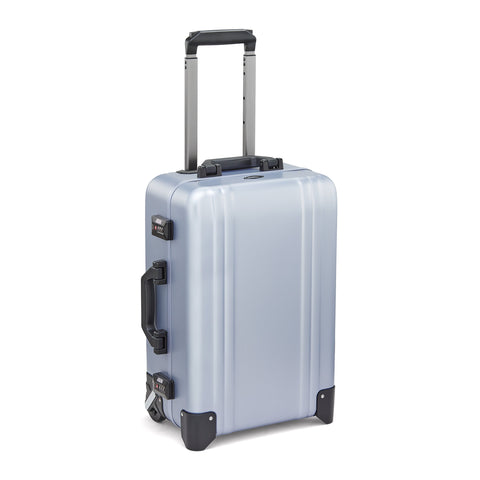 Classic Aluminum | Two-Wheel Carry-On POLISHED BLUE