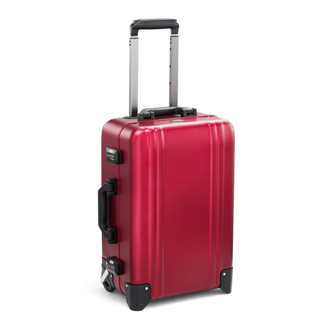 Classic Aluminum | Two-Wheel Carry-On RED