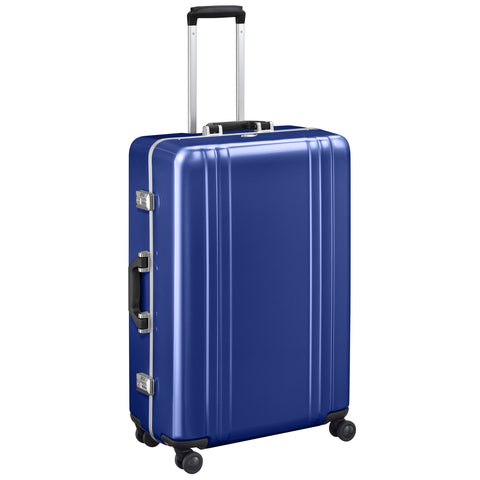 "Classic Polycarbonate | 28"" Spinner Travel Case BLUE"