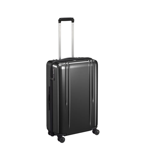 "ZRL Polycarbonate | 26"" Lightweight Spinner Travel Case BLACK"
