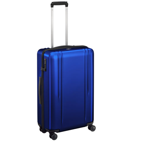 "ZRL Polycarbonate | 26"" Lightweight Spinner Travel Case BLUE"