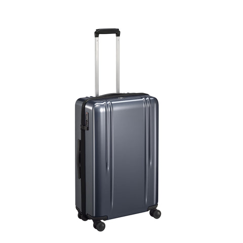 "ZRL Polycarbonate | 26"" Lightweight Spinner Travel Case GUNMETAL"