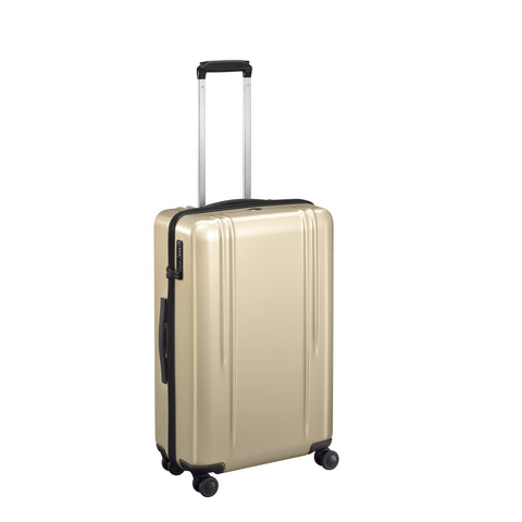 "ZRL Polycarbonate | 26"" Lightweight Spinner Travel Case POLISHED GOLD"